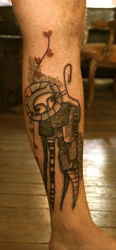 estoy absolutamente enamorada de los tatuajes de noon