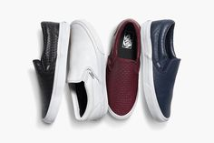 "Vans ""Leather"" Pack Collection Printemps 2015"