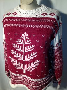 Christmas Sweater    FREE Shipping  Small by ZassysTreasures, $30.00
