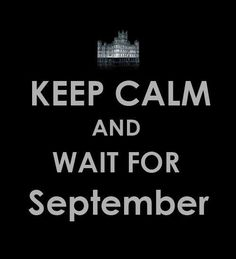 Downton Abbey Season 3 in the UK. We have to wait until January 2013 across the pond.