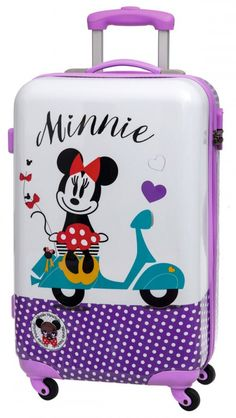 Cute Luggage, Kids Luggage, Luggage Bags, Mickey Mouse And Friends, Minnie Mouse, Disney Luggage, Disney Collection, Childrens Luggage, Cute Suitcases
