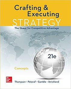 Macroeconomics 7th edition by olivier blanchard httpswww crafting and executing strategy concepts 21st edition by arthur thompson a j strickland iii isbn 13 978 1259899690 fandeluxe Gallery