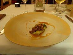Corações de alface e vitela, tutano e nozes / lettuce and veal hearts, bone marrow and walnuts (2013) @ Restaurant Belcanto
