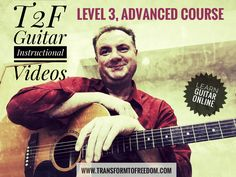 """The T2F Guitar School. 3 levels of courses for online music theory & guitar lessons, in the form of """"follow and play"""" instructional videos. online guitar lessons, via Skype or FaceTime, are also available: http://tinyurl.com/ztl3ztd"""