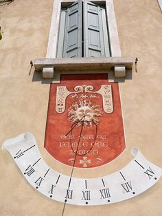 Meridiana (Sundial) Veneto  #TuscanyAgriturismoGiratola