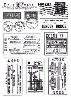 vintage tickets - Google Search