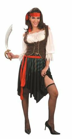 Caribbean Pirate Lady Fancy Dress Costume One Size Country Club http://www.amazon.co.uk/dp/B001PESBKG/ref=cm_sw_r_pi_dp_2MDNtb12VY4989AS
