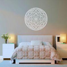 Vinilo Decorativo - Mandala Floral. Encuéntralo en www.pick2stick.com desde 25,20€
