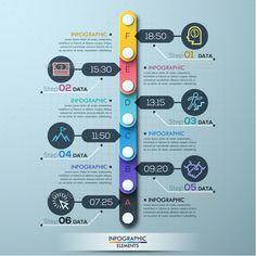 Minimal Timeline Infographic Template. Download here: http://graphicriver.net/item/minimal-timeline-template/15197527?ref=ksioks