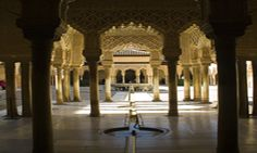 I love the Alhambra. Every piece of it so ornate!