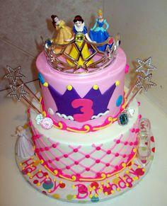 disney princesses birthday cake - Google Search