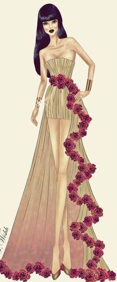 Fashion design sketches dresses ideas Ideas for 2019