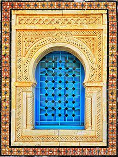 Arabic style house window