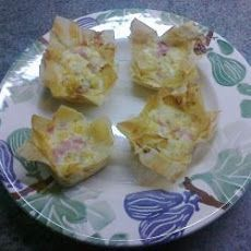 Filo Square Mini Quiches