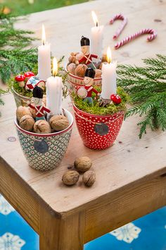 Nordic Christmas, Winter Christmas, Christmas Time, Vintage Christmas, Indoor Christmas Decorations, Thanksgiving Decorations, Advent Candles, Christmas Inspiration, Holidays And Events