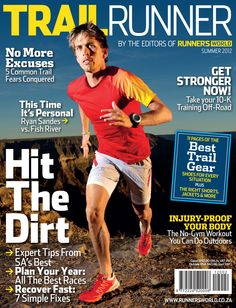 0848853217 Trail Runner - by the editors of Runner s World - now available! Ryan  Sandes discusses