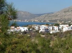 A lovely photo taken overlooking the village of Pefkos in Rhodes Rhodes, East Coast, Greece, Tourism, Sun, Vacation, Water, Holiday, Outdoor