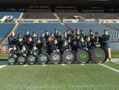 Seattle Seahawks Blue Thunder. One of my favorite parts of going to the games.