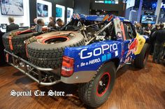 GoPro Rally Truck - CES 2013. Gallery:  http://specialcarstore.com/content/gopro-rally-truck-ces-2013