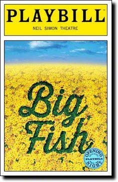 Big Fish saw it October 2013