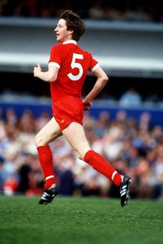 Liverpool player Ronnie Whelan who scored twice on his birthday 25th September 1982 against Southampton