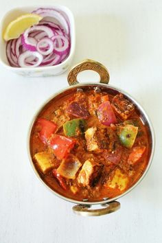 Share this on WhatsApp Paneer tikka masala recipe – Very popular Punjabi gravy dish that is available in each every North Indian restaurants. Today I have prepared the Paneer tikka masala restaurant style. It tastes really flavorful and awesome that dear hubby just loved it. His favorite paneer gravies are shahi paneer, matar paneer and...Read More »