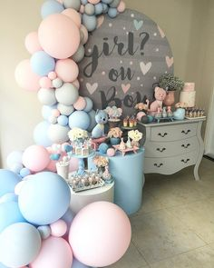 What will it bee…gender reveal party. Gender Reveal Themes, Bee Gender Reveal, Pregnancy Gender Reveal, Gender Reveal Balloons, Gender Reveal Party Decorations, Baby Gender Reveal Party, Gender Party, Deco Baby Shower, Baby Shower Party Favors