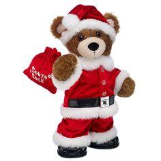 Santa Bearemy® - Build-A-Bear Workshop Softies, Plushies, Bear Gallery, Teddy Bear Images, Custom Teddy Bear, Build A Bear Outfits, Teddy Bear Clothes, Christmas Teddy Bear, Boyds Bears
