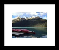 Kanada Landshapes 1graph Framed Print by Britta Zehm. All framed prints are professionally printed, framed, assembled, and shipped within 3 - 4 business days and delivered ready-to-hang on your wall. Choose from multiple print sizes and hundreds of frame and mat options.