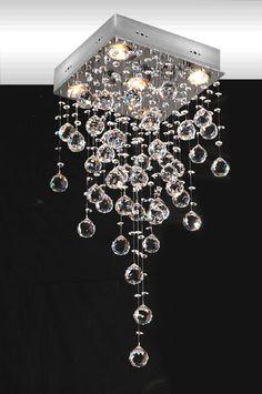 lustre de cristal...