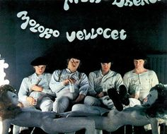 Getting ready for a bit of the old ultra violence. A Clockwork Orange is a strange movie but Malcolm McDowell in it makes it a favorite.
