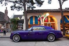 Purple Drophead