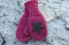 Rosa tovede votter str. 2-4 år - SALG 30% - Epla Winter Hats, Gloves, Knitting, Fashion, Moda, Tricot, La Mode, Breien, Fasion