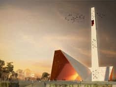 Notre Dame de l'Assomption – National Cathedral Competition Entry / YCF Group ,Port-Au-Prince, Haiti