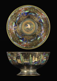 A Wedgwood Fairyland Lustre Punch Bowl