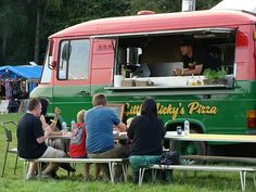 Little Nicky's tasty pizza mobile van. I like this one too.