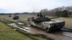 """MBT Italian C1 """"Ariete"""". Exercises in Sardinia"""