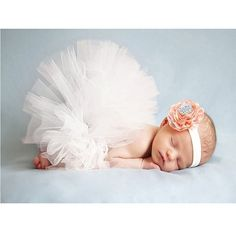 Amazon.com: Zonegear Newborn Photography Prop Infant Flower Tutu Dress Outfit for Baby Girls: Baby