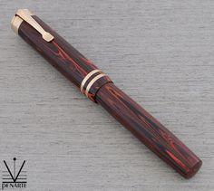 Wahl Pen 627ASC in Rosewood Rubber, ca. 1928 | Penarte - Fine Vintage Pens