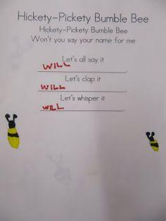 KC Kindergarten Times: Learning New Friends Names