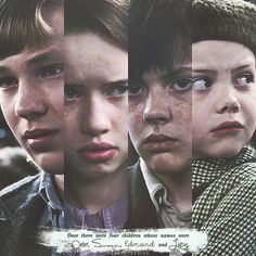 'Once there were four children whose names were Peter, Susan, Edmund and Lucy.'