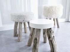 DIY a concrete stool