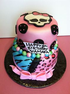 girls monster high birthday cake | Recent Photos The Commons Getty Collection Galleries World Map App ...
