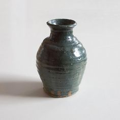 Items similar to Handmade pottery vase, green-blue glaze with brown stoneware ceramic clay on Etsy Green Vase, Blue Green, Handmade Pottery, Handmade Gifts, Pottery Vase, Vases, Ceramics, Unique Jewelry, Etsy