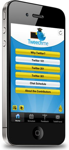 Tweechme, the mobile app that teaches educators how to use Twitter! http://www.crescerance.com/tweechme