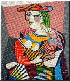 Picasso in mosaics <3