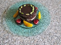 Tarte  au  creme  patissiere  aux  poire   chocolate  et  fruits  jaune  et   rouge  Gino D'Aquino