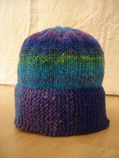 Beginning Knitter Hat