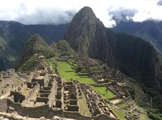 Machu Picchu, Cusco, Perú! Felices Fiestas Patrias!