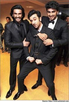 classy men ! #suitup #bollywood